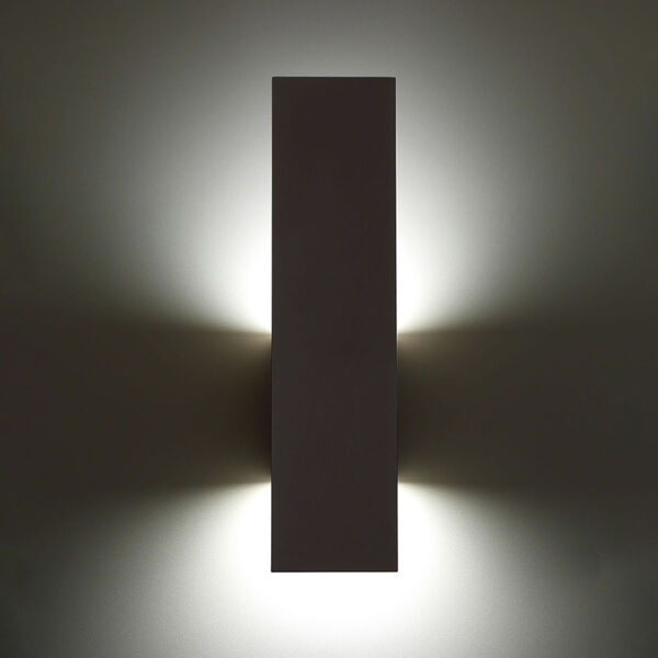 Icon Bronze Three-Inch Two-Light LED Outdoor Wall Sconce, image 4
