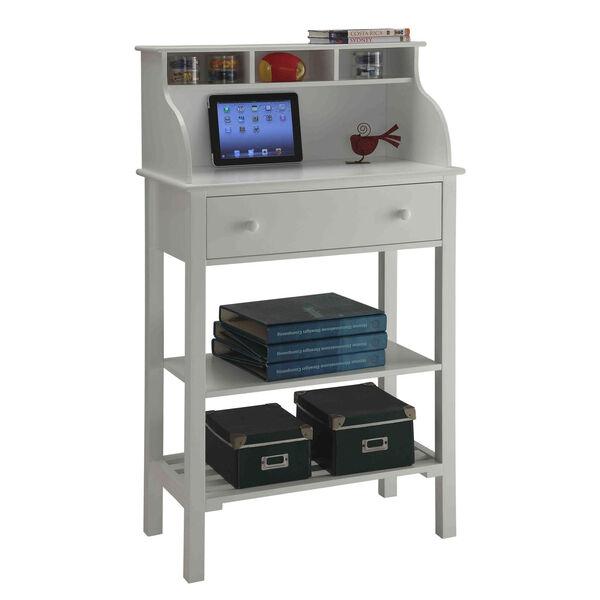Designs2Go White Storage Desk, image 3