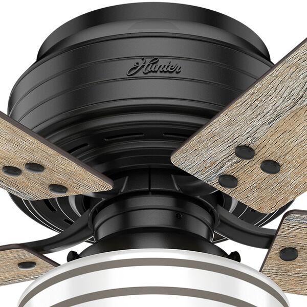 Cedar Key Matte Black 52-Inch One-Light LED Ceiling Fan, image 5