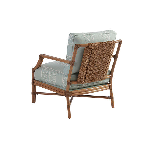 Upholstery Green and White Redondo Chair, image 2