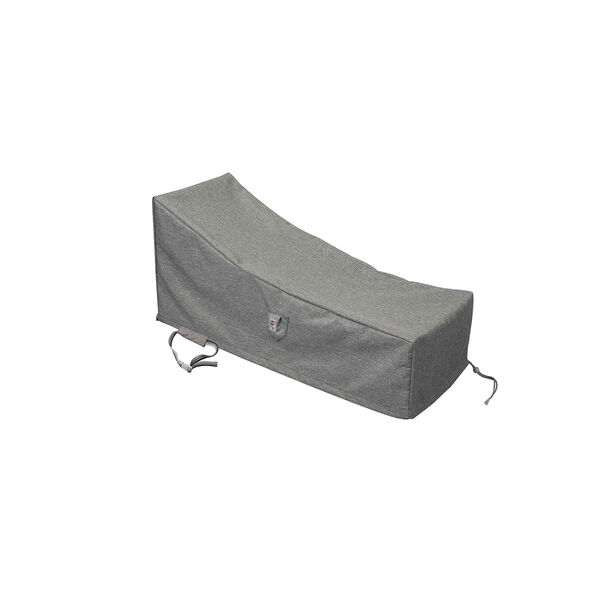 Platinum Shield Outdoor Long Chaise Lounge Cover, image 1