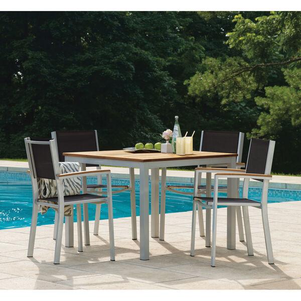 Travira 39-Inch Natural Tekwood Dining Table, image 2