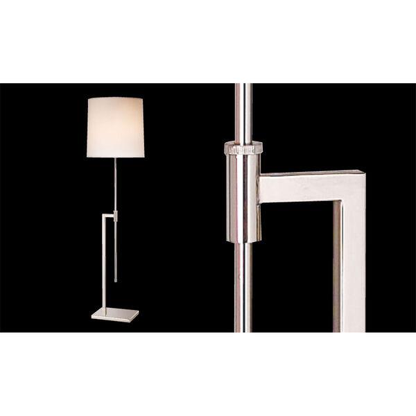 Palo Satin Brass Adjustable Floor Lamp, image 2