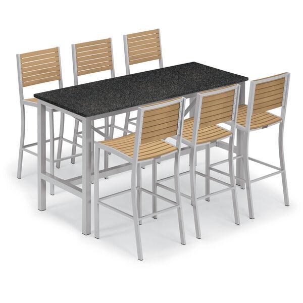 Travira Natural Tekwood Bar Chair, image 5