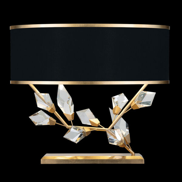 Foret Gold Black Two-Light Table Lamp, image 1