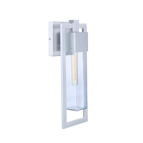 Perimeter Satin Aluminum 19-Inch One-Light Outdoor Wall Sconce, image 2