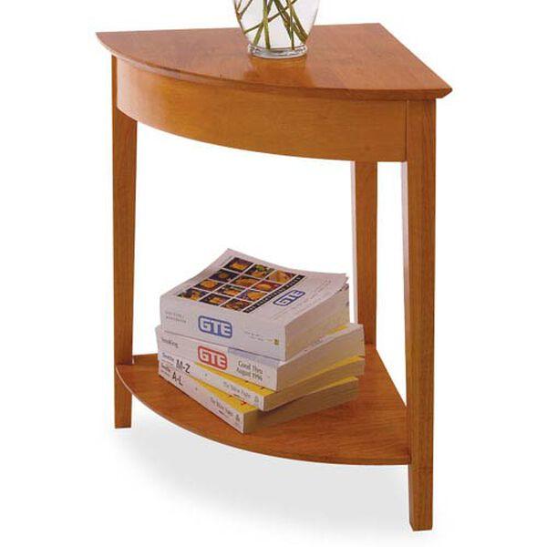 Honey Pine Corner Table, image 1