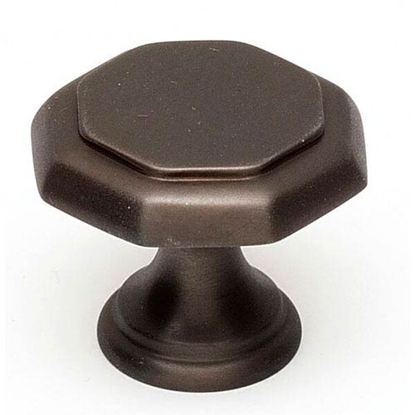 Chocolate Bronze 1-Inch Knob, image 1