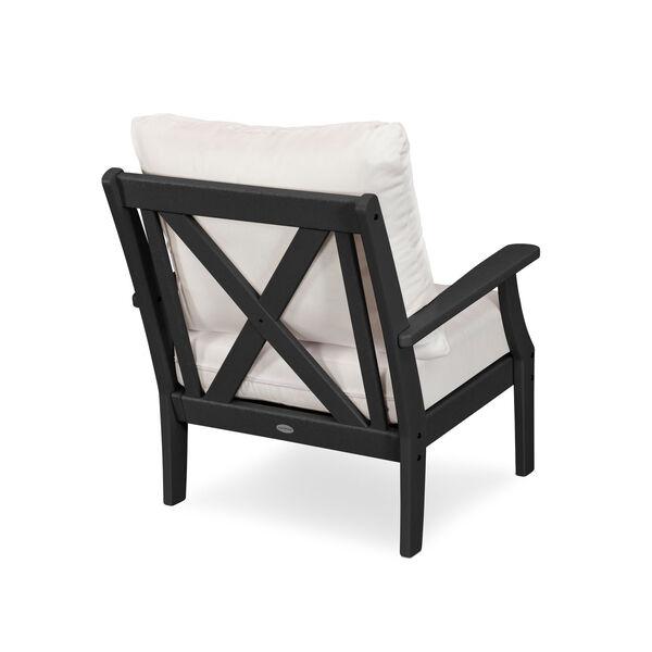 Braxton Black and Grey Mist Deep Seating Chair, image 2