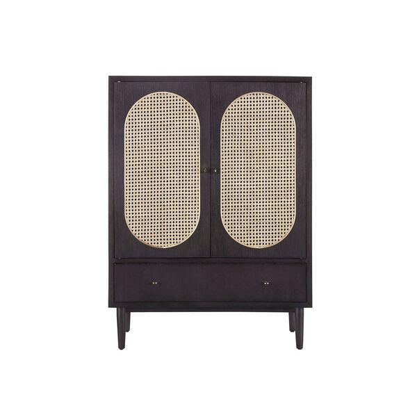 Dark Gray 36-Inch Bauer Bar Cabinet, image 2