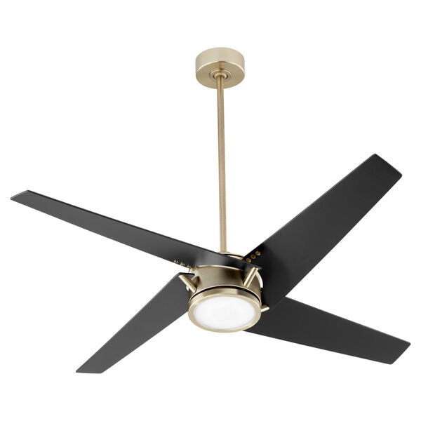 Axis Aged Brass 54-Inch LED Ceiling Fan, image 1