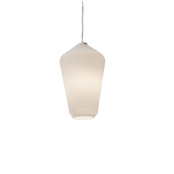 Lola White 11-Inch One-Light Pendant, image 2