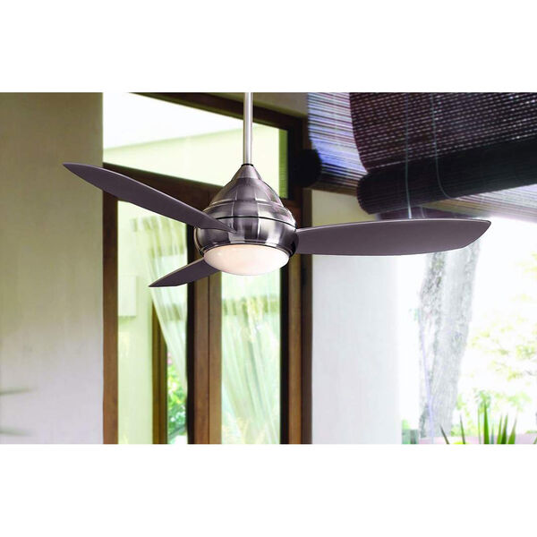 Concept I Brushed Nickel Outdoor LED 52-Inch Ceiling Fan, image 4