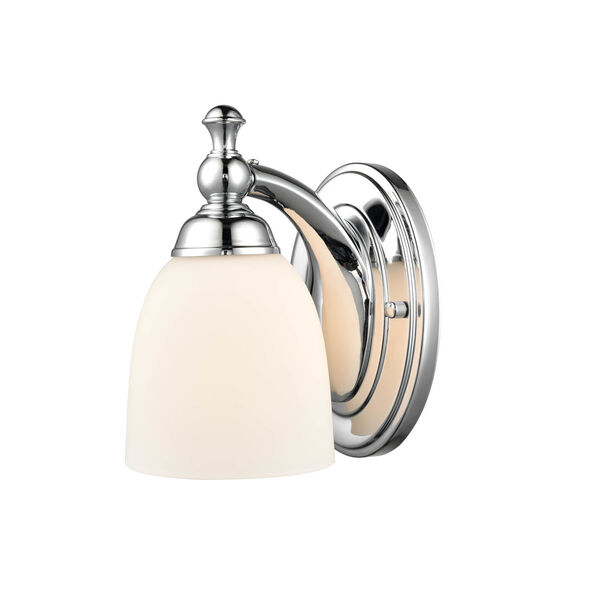 Chrome Five-Inch One-Light Wall Sconce, image 2