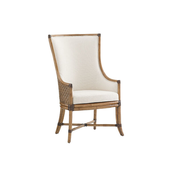 Twin Palms Brown and White Balfour Host Chair, image 1