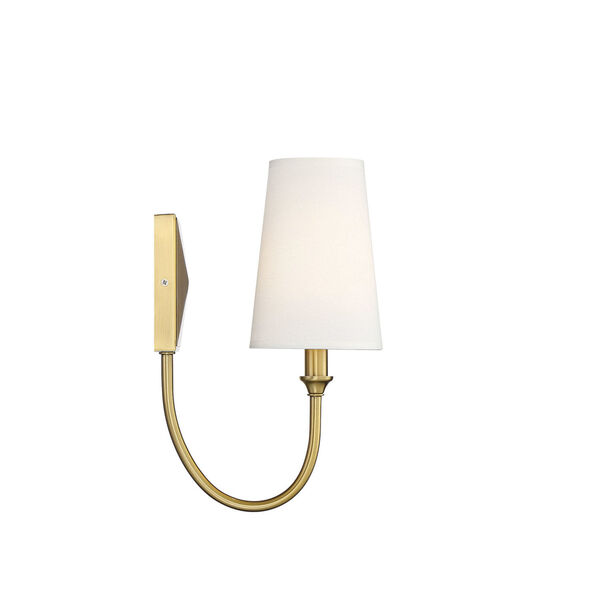 Cameron Warm Brass One-Light Wall Sconce, image 4