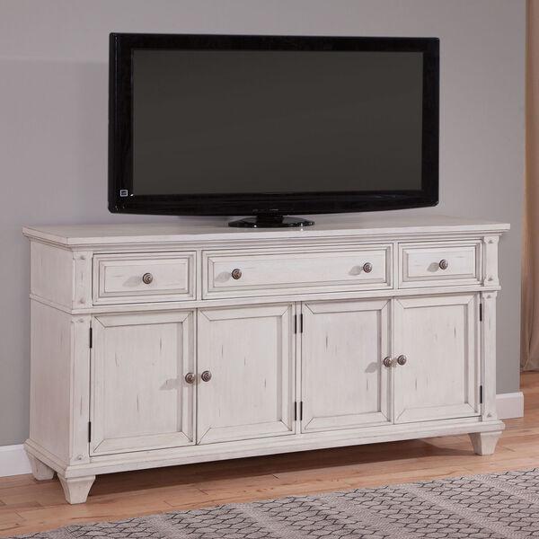 Sedona Antique Cobblestone White 72-Inch TV Console, image 2