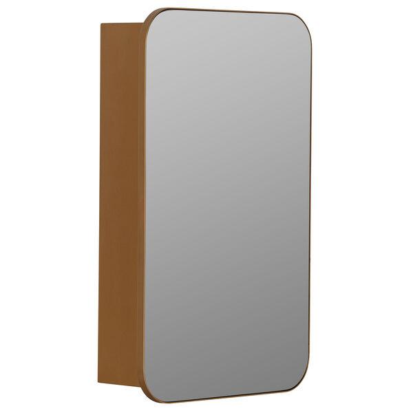 Hadley Gold Surface Medicine Cabinet with Adjustable Shelves, image 6