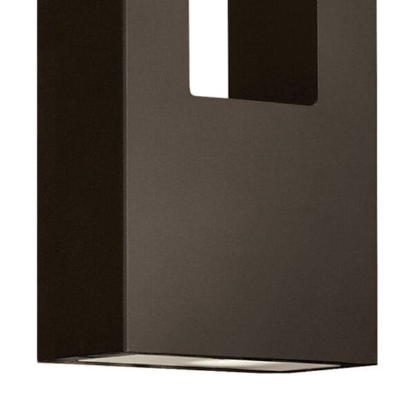 Atlantis Bronze Two-Light LED 6-Inch Outdoor Wall Mount, image 3