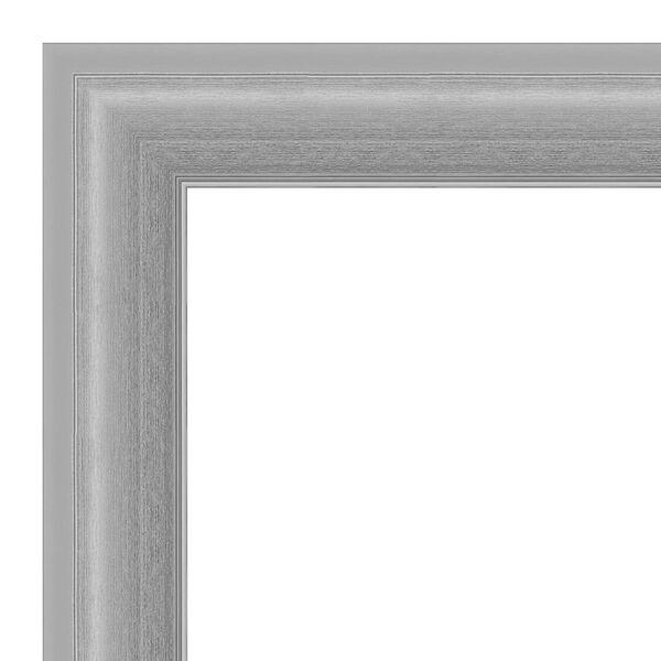 Peak Brushed Nickel 41W X 29H-Inch Bathroom Vanity Wall Mirror, image 2