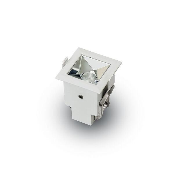 Rubik White LED Recessed Downlight, image 4