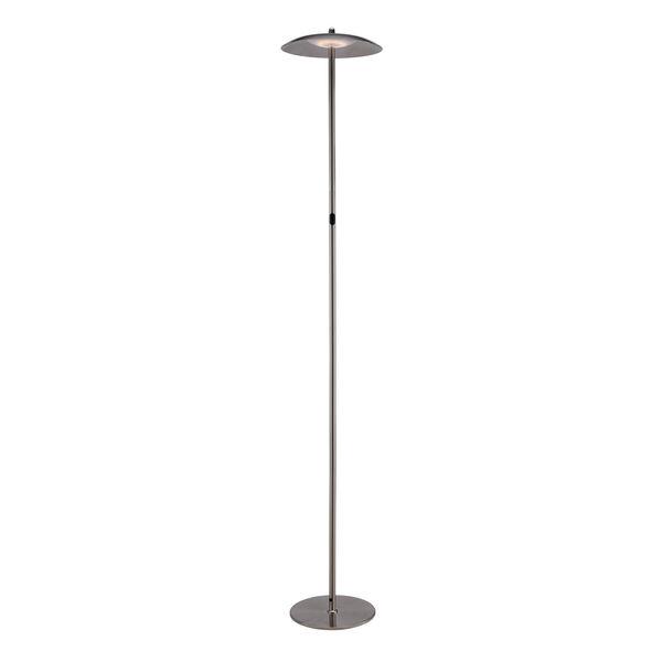 Torin Brushed Nickel LED Floor Lamp, image 1