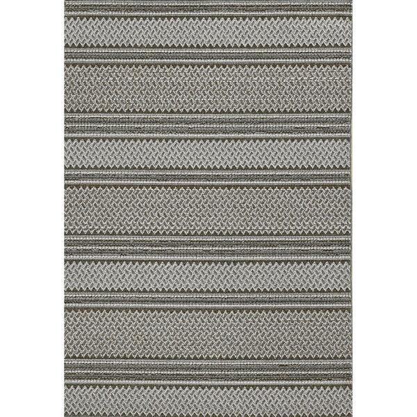 Terrace Gray Rectangular: 6 Ft. 7 In. x 9 Ft. 4 In. Rug, image 1