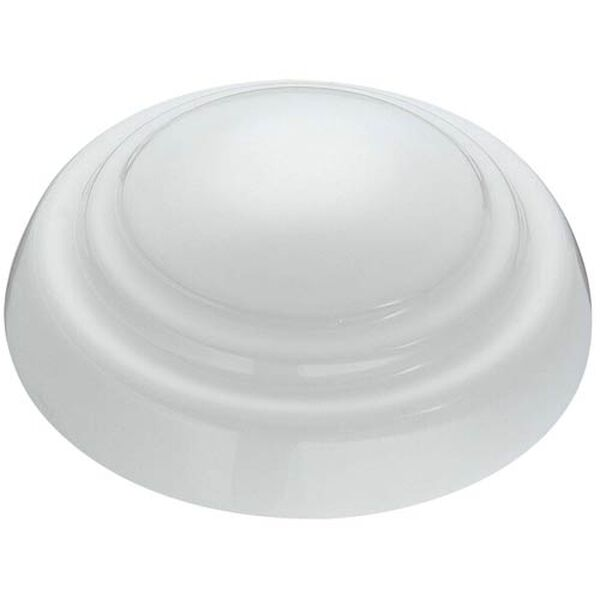 Light Wave White LED 52-Inch Ceiling Fan, image 3
