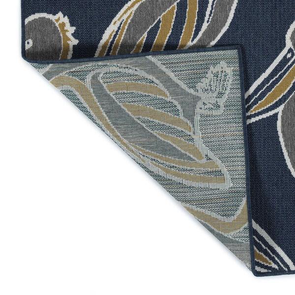 Navy Pelican Indoor/Outdoor Rug, image 3
