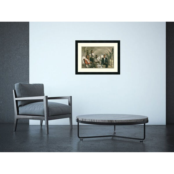 The Pioneers, 25 In. x 19 In. Framed Art, image 4