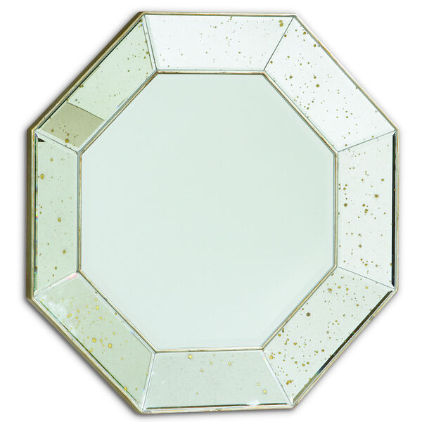 Classic Transparent Looking Glass Wall Mirror, image 1