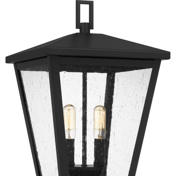 Joffrey Matte Black Two-Light Outdoor Post Mount, image 5