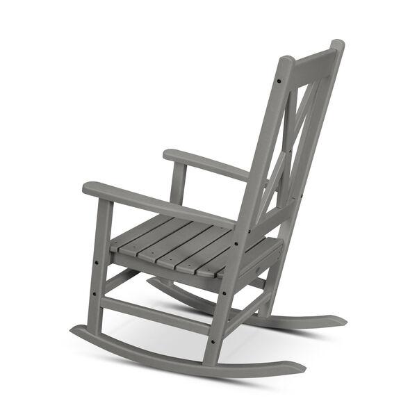 Braxton Black Porch Rocking Chair, image 3