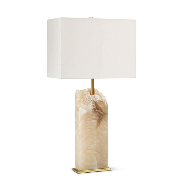 Selina Natural Stone One-Light Table Lamp, image 1