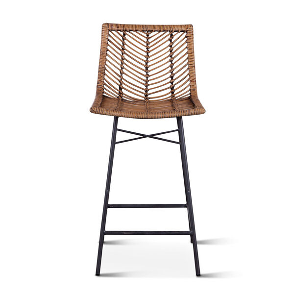 Bali Brown Honey Washed Counter Chair, Set of 2, image 1