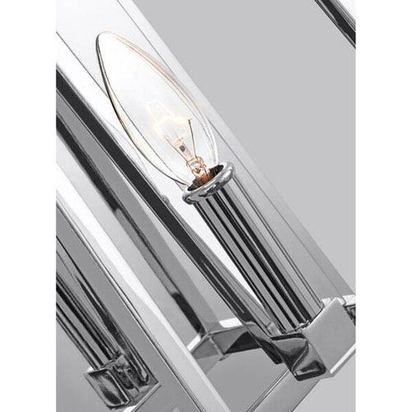 Wakefield Chrome 8-Inch One-Light Wall Bath Fixture, image 3