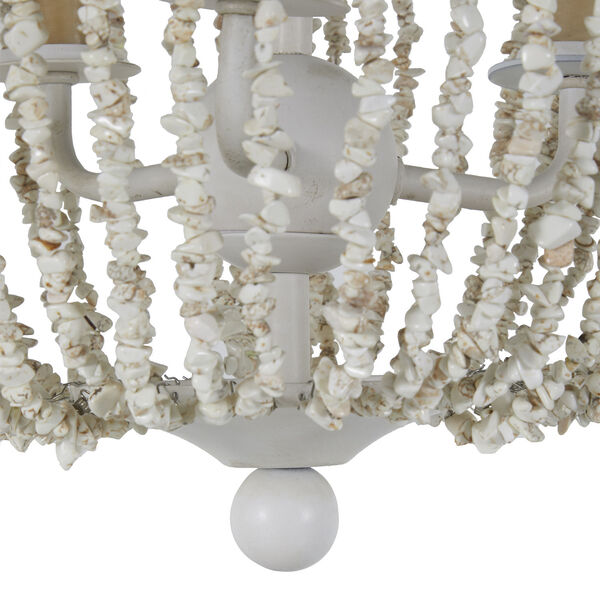 Jenny Coral White Chandelier, image 5