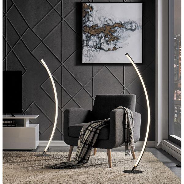 Monita Black 52-Inch LED Floor Lamp, image 4