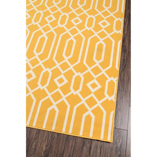 Baja Links Yellow Indoor/Outdoor Rug, image 2