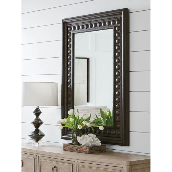 Malibu Rich Expresso 52 x 37 Inch Las Flores Mirror, image 2