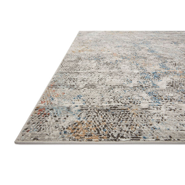 Bianca Gray, Spice and Blue 9 Ft. 9 In. x 13 Ft. 6 In. Area Rug, image 3