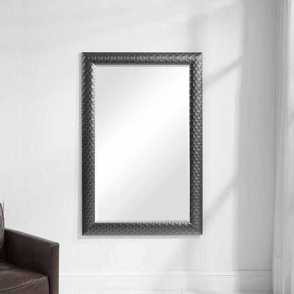 Caldera Textured Gray Mirror, image 3
