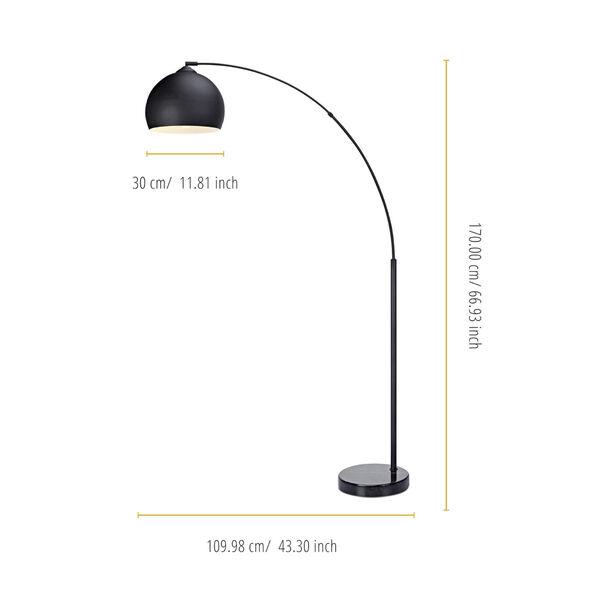 Arquer Black Arc Floor Lamp, image 5