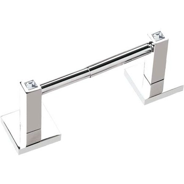 Contemporary II Crystal Polished Chrome Crystal Tissue Holder, image 1