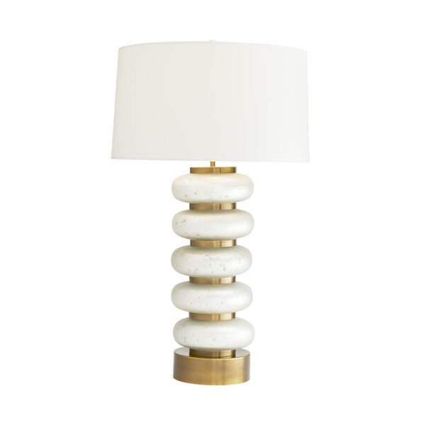 Gaelen Frosted Mercury One-Light Table Lamp, image 2