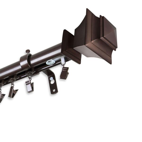 Bach Cocoa 86-Inch Traverse Rod, image 1