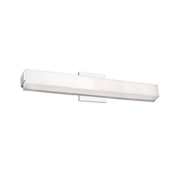 Latitude Chrome 24-Inch One-Light LED Bath Vanity, image 1