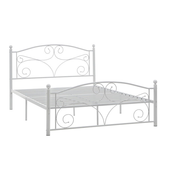 Betty White Full Metal Platform Bed, image 1