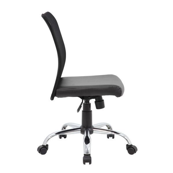 Boss 27-Inch Black Budget Mesh Task Chair, image 6