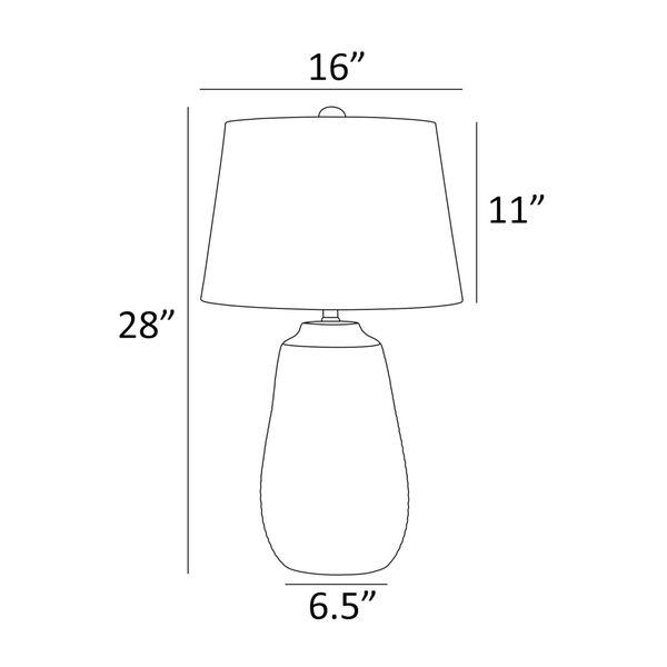 Paley Metallic Bronze One-Light Table Lamp, image 4
